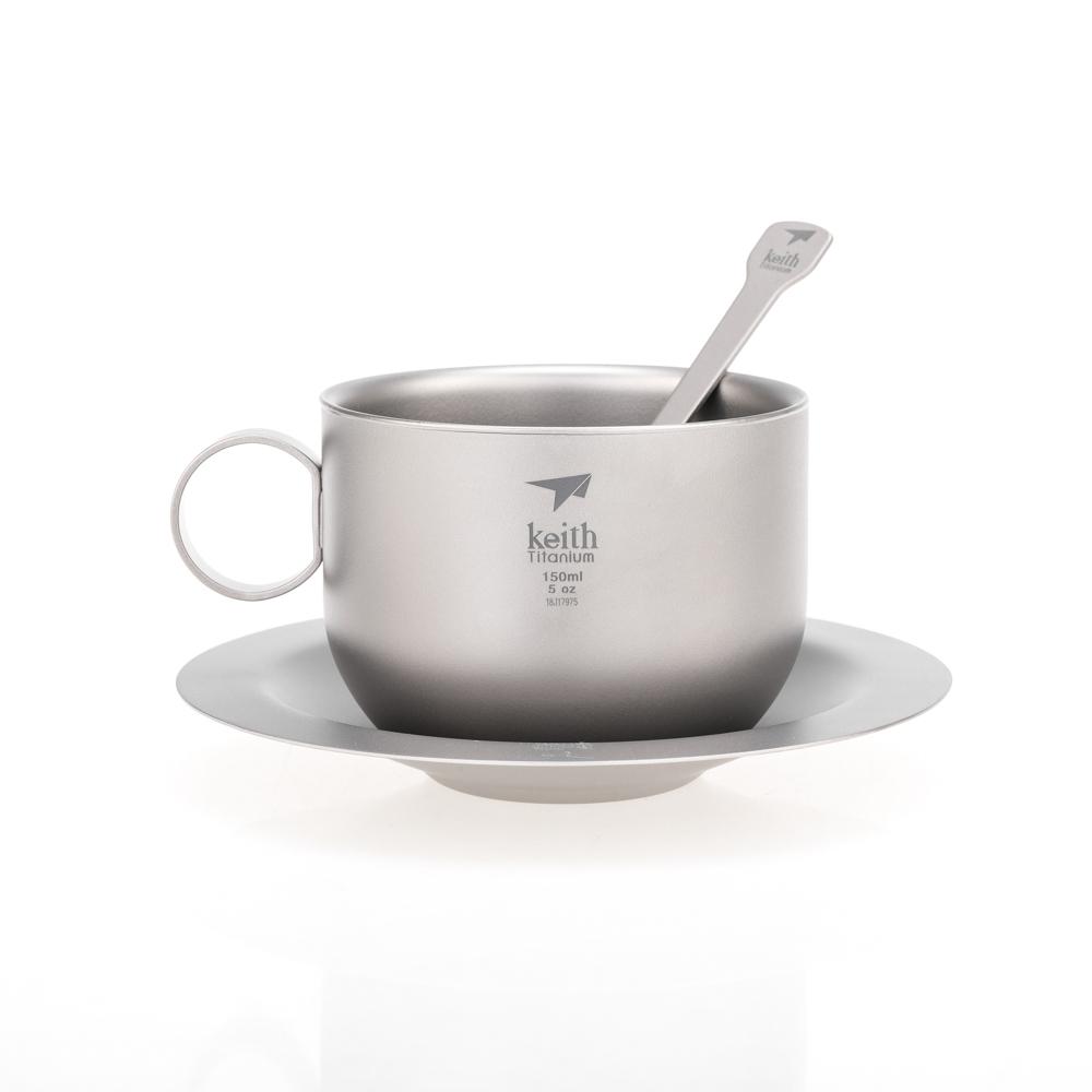 KEITH TI3601 – BỘ UỐNG COFFEE TITANIUM (LY CÁCH NHIỆT 2 LỚP)
