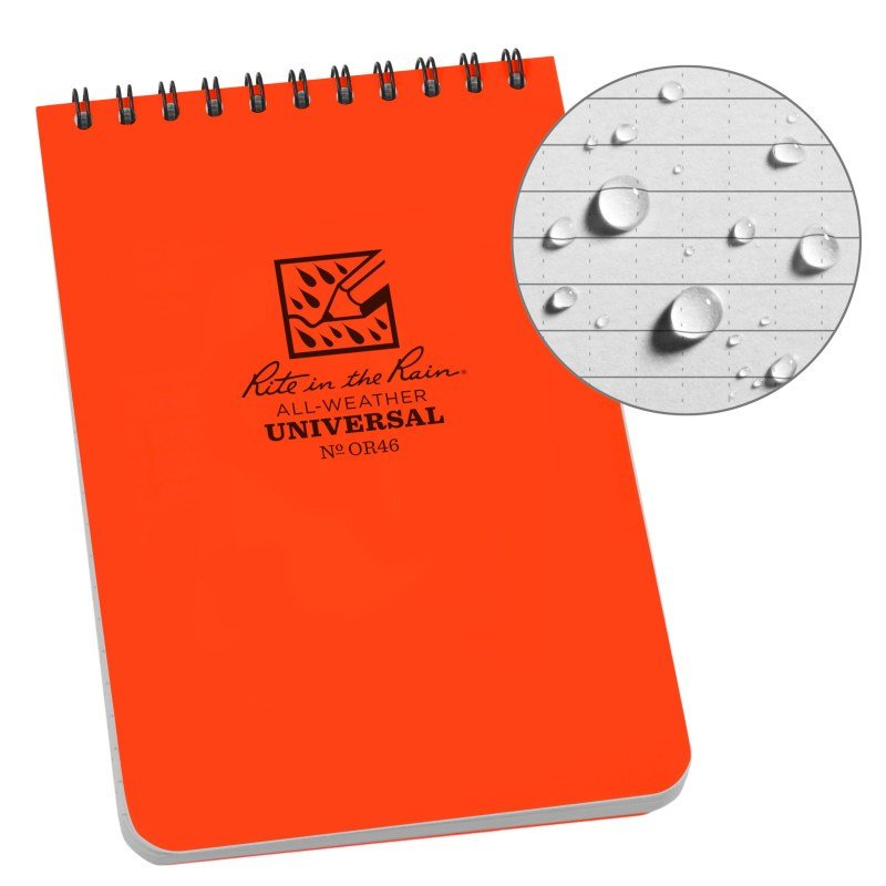 4 X 6 NOTEBOOK – ORANAGE