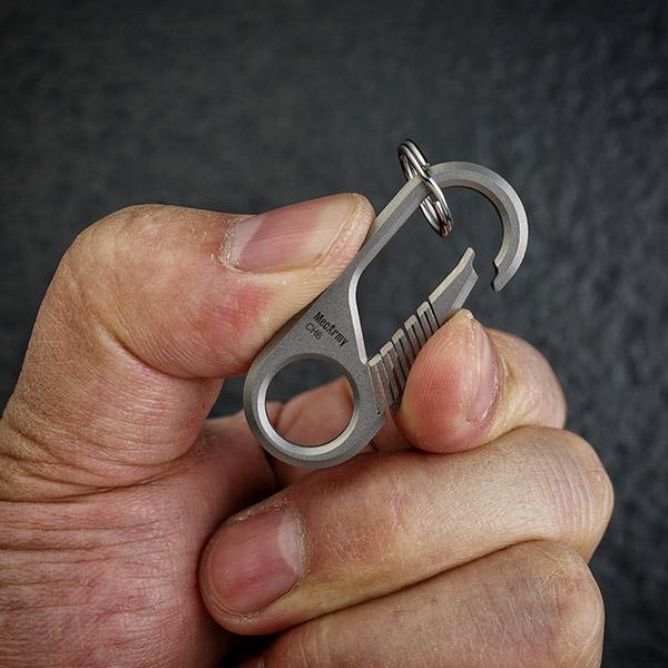 MecArmy CH6K – Set Titanium Carabiner/ Keyring