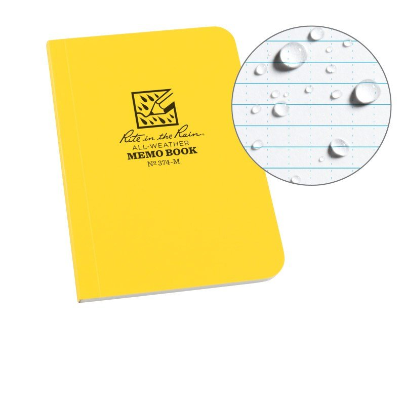 FIELD FLEX POCKET MEMO – UNIVERSAL – YELLOW