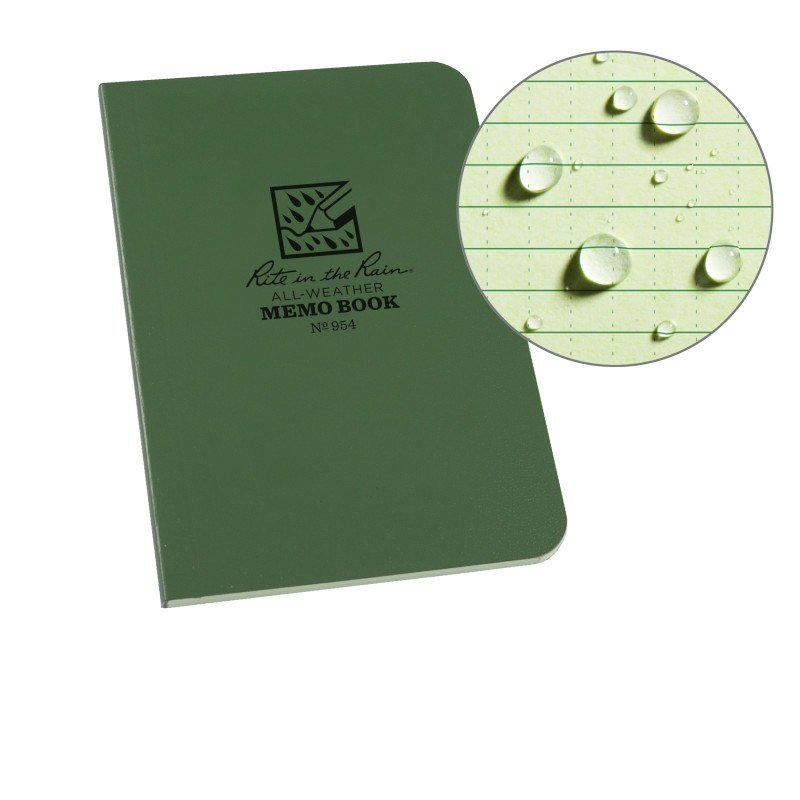 FIELD FLEX POCKET MEMO – UNIVERSAL – GREEN
