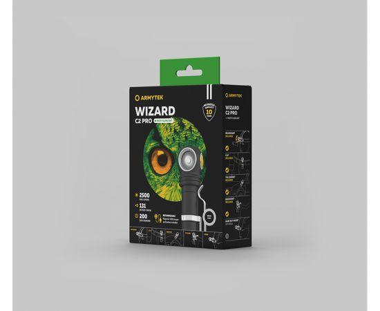 Đèn Pin Armytek WIZARD C2 PRO – Sáng Trắng