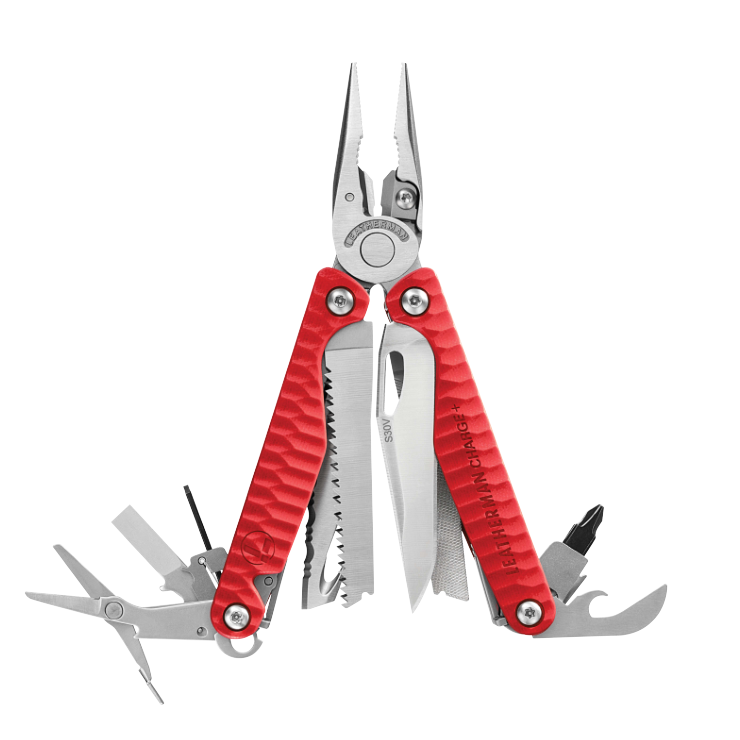 Kìm Đa Năng Leatherman CHARGE ®+ G10 Red Special Edition