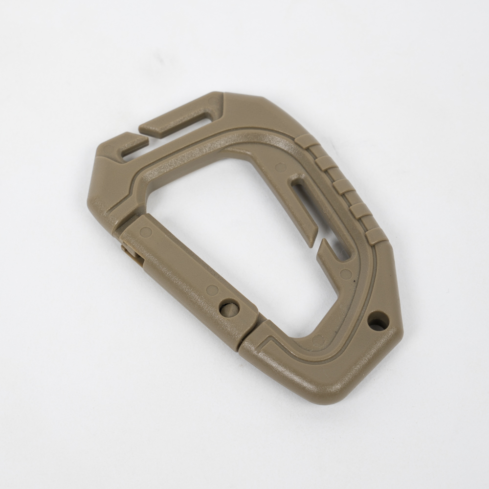 Molle Plastic Carabiner – Sandstone