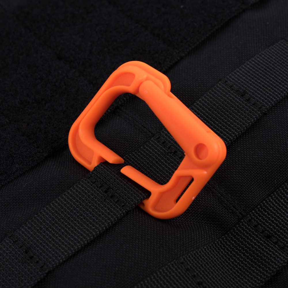 Quick Molle Carabinber – Orange