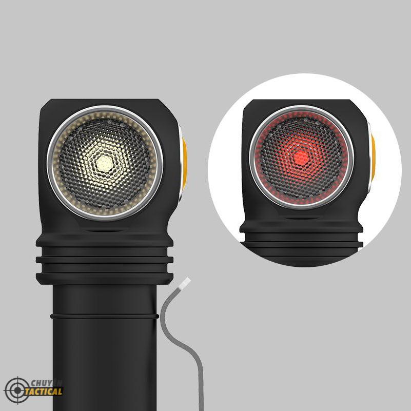 Đèn Pin Armytek WIZARD C2 WR – Sáng Vàng/Đỏ