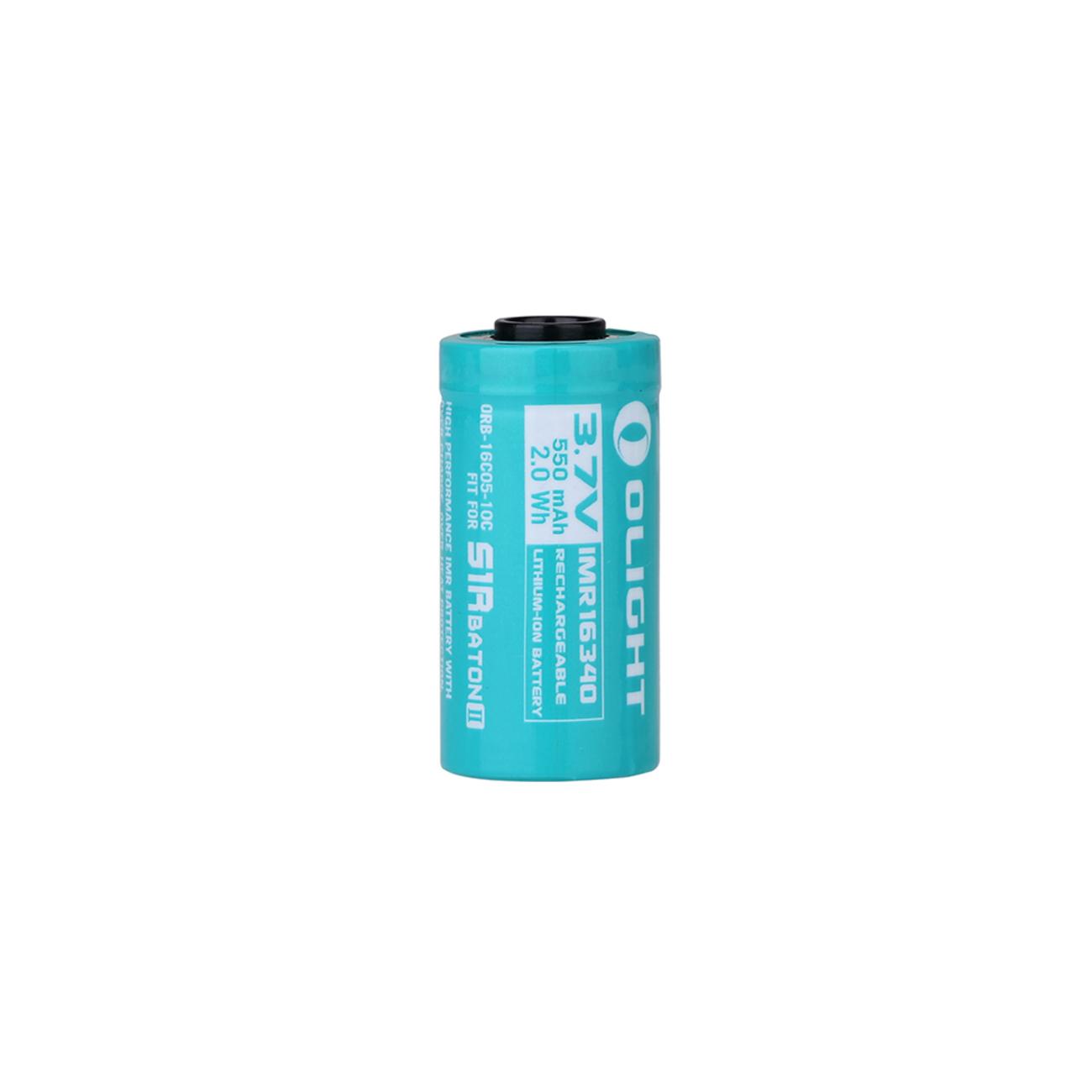 Olight Pin 550mAh IMR16340 Battery for S1R Baton II