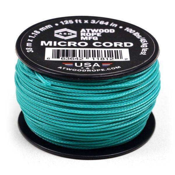Dụng cụ phượt Dây Micro Cord 1.18mm – 100ft – Teal