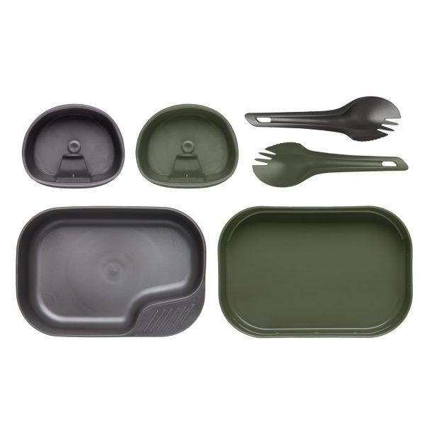 Wildo® CAMP-A-BOX® DUO Light – Olive Green / Dark Grey A