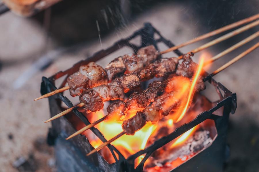 Bếp Củi Cắm Trại Titanium – KEITH TI2201