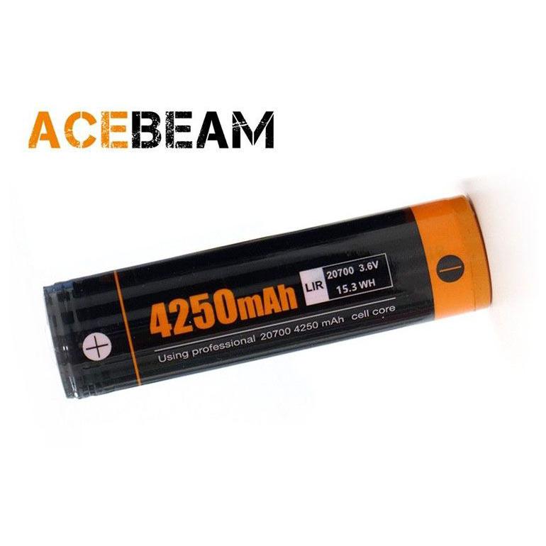 PIN SẠC ACEBEAM 20700 DUNG LƯỢNG 4250 MAH