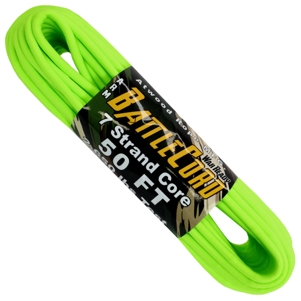 5.6mm Battle Cord – 100ft – Neon Green