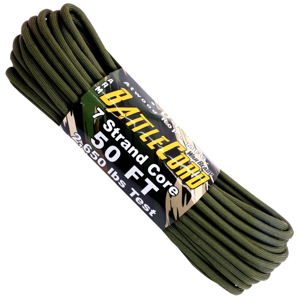 5.6mm Battle Cord – 100ft – Olive Drab