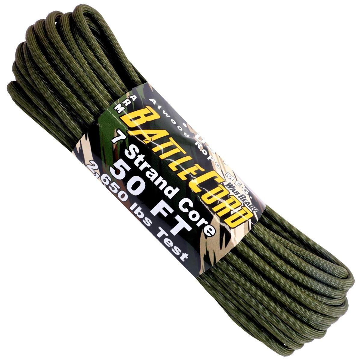 5.6mm Battle Cord – 100ft – Olive Drab