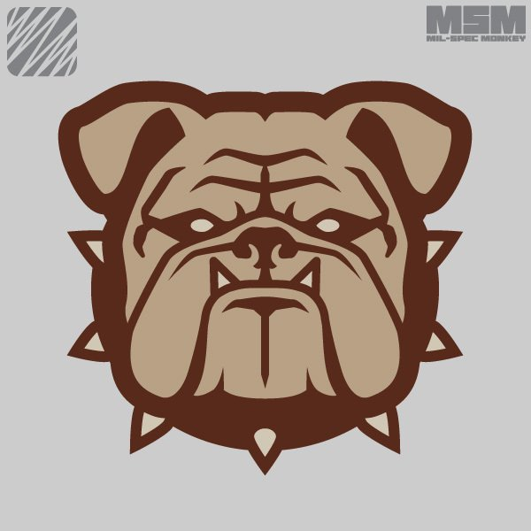Bulldog Head – Small