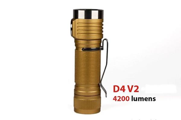 Emisar D4v2 - Đèn Pin Nhỏ Gọn Độ Sáng Siêu Sáng