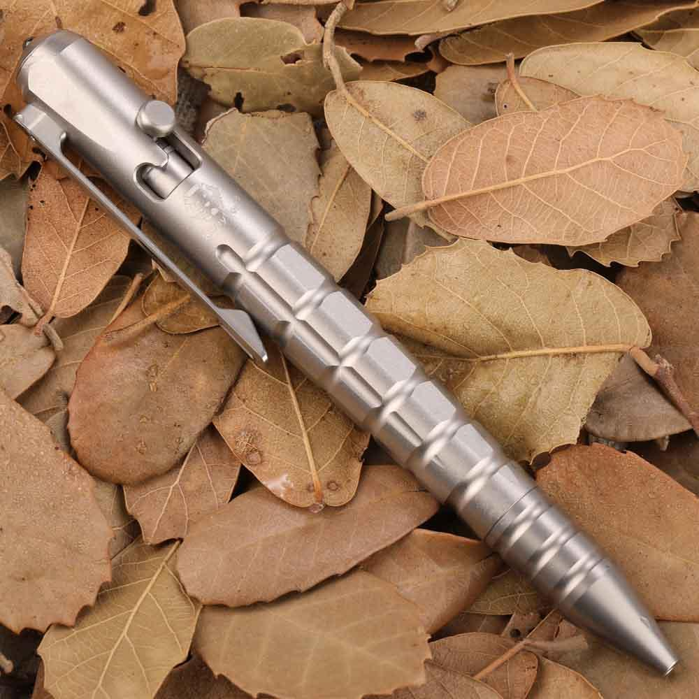 Bút Titanium Rovyvon Commander C10 Bolt Pen Phun Cát