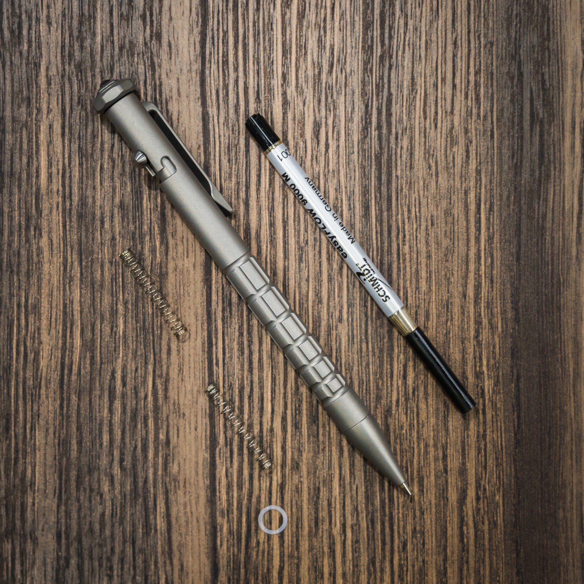 Tacray Bút Titanium Tacray Bolt Action - Ruột Bi + Pencil (2 In1)