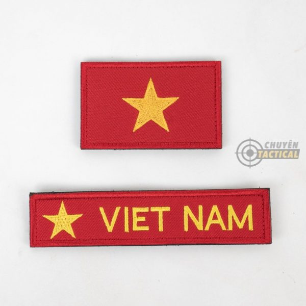 Set Vietnam Flag – Vải Thêu