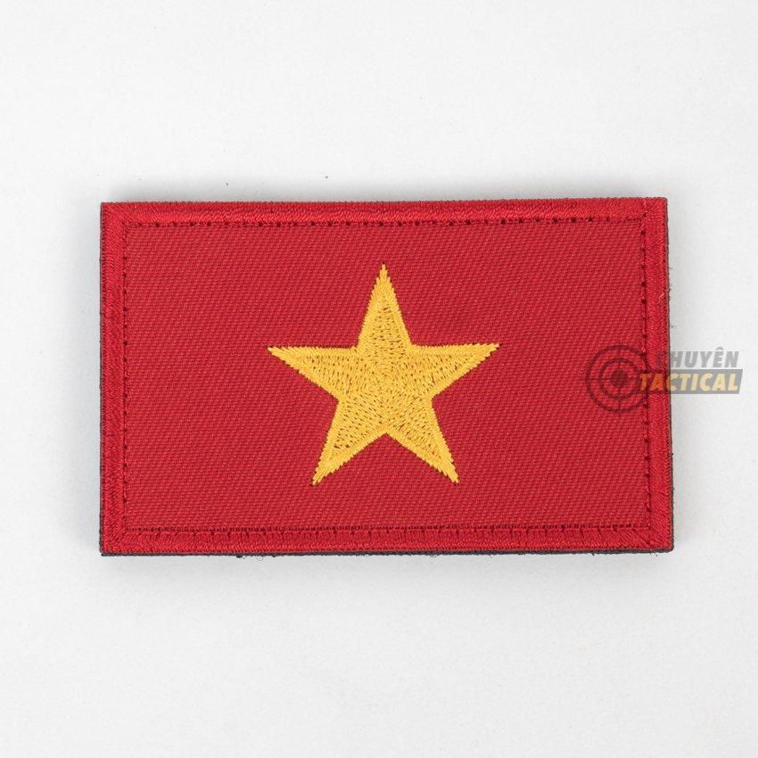 Vietnam Flag – vải thêu