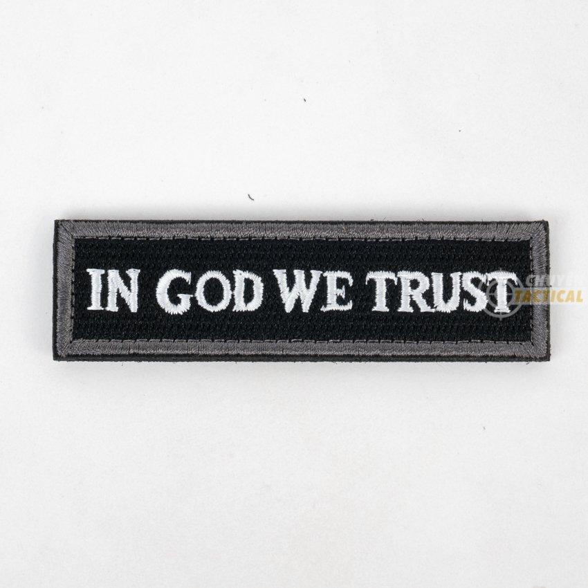 In God we trust - 1