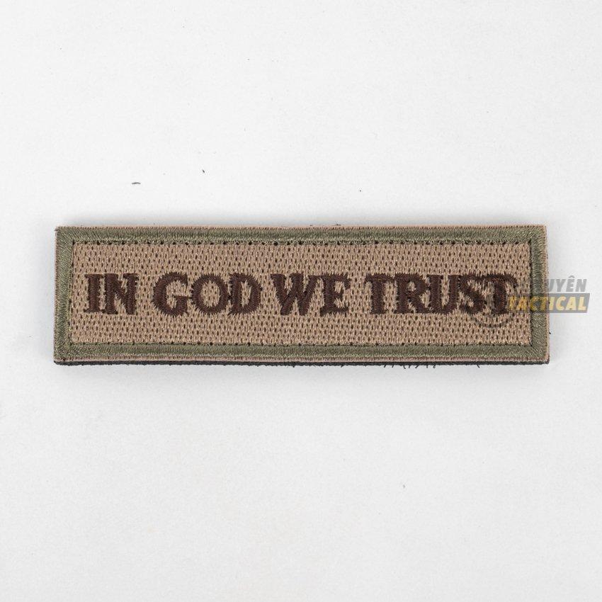 In God we trust - 2