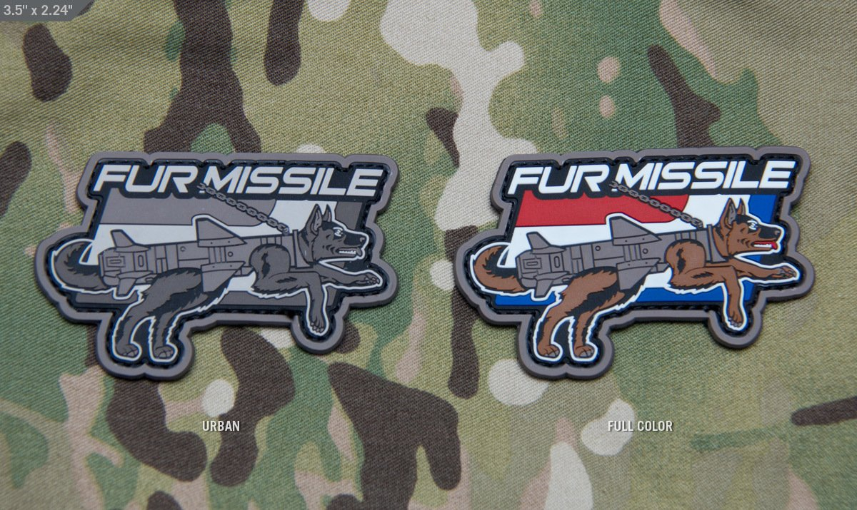 Fur Missile PVC
