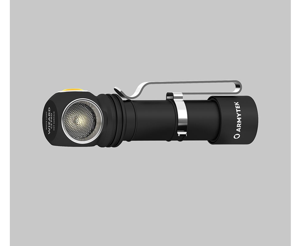 Đèn Pin Armytek WIZARD C2 PRO MAGNET USB XHP50.2 (Warm Light)