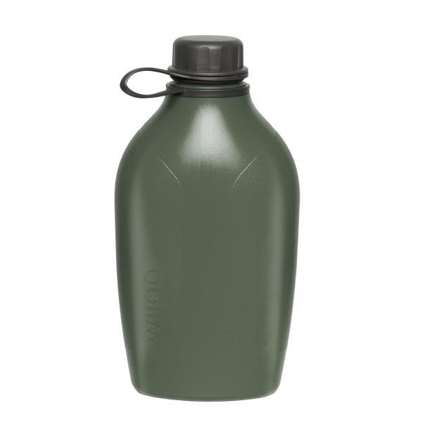 Wildo® Explorer Bottle (1 Liter) – Olive Green