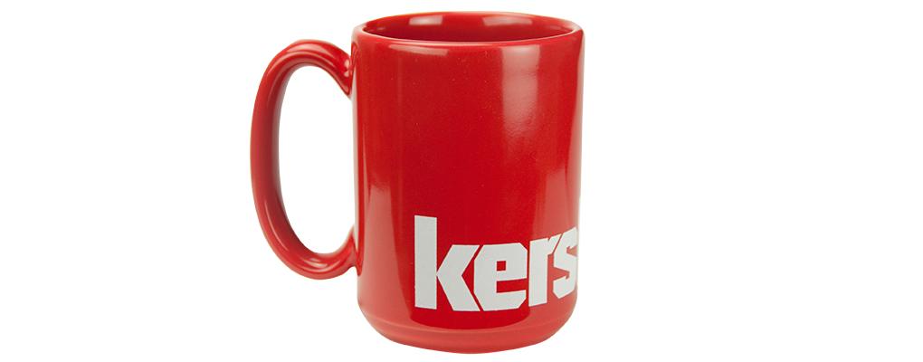 KERSHAW COFFEE MUG, RED
