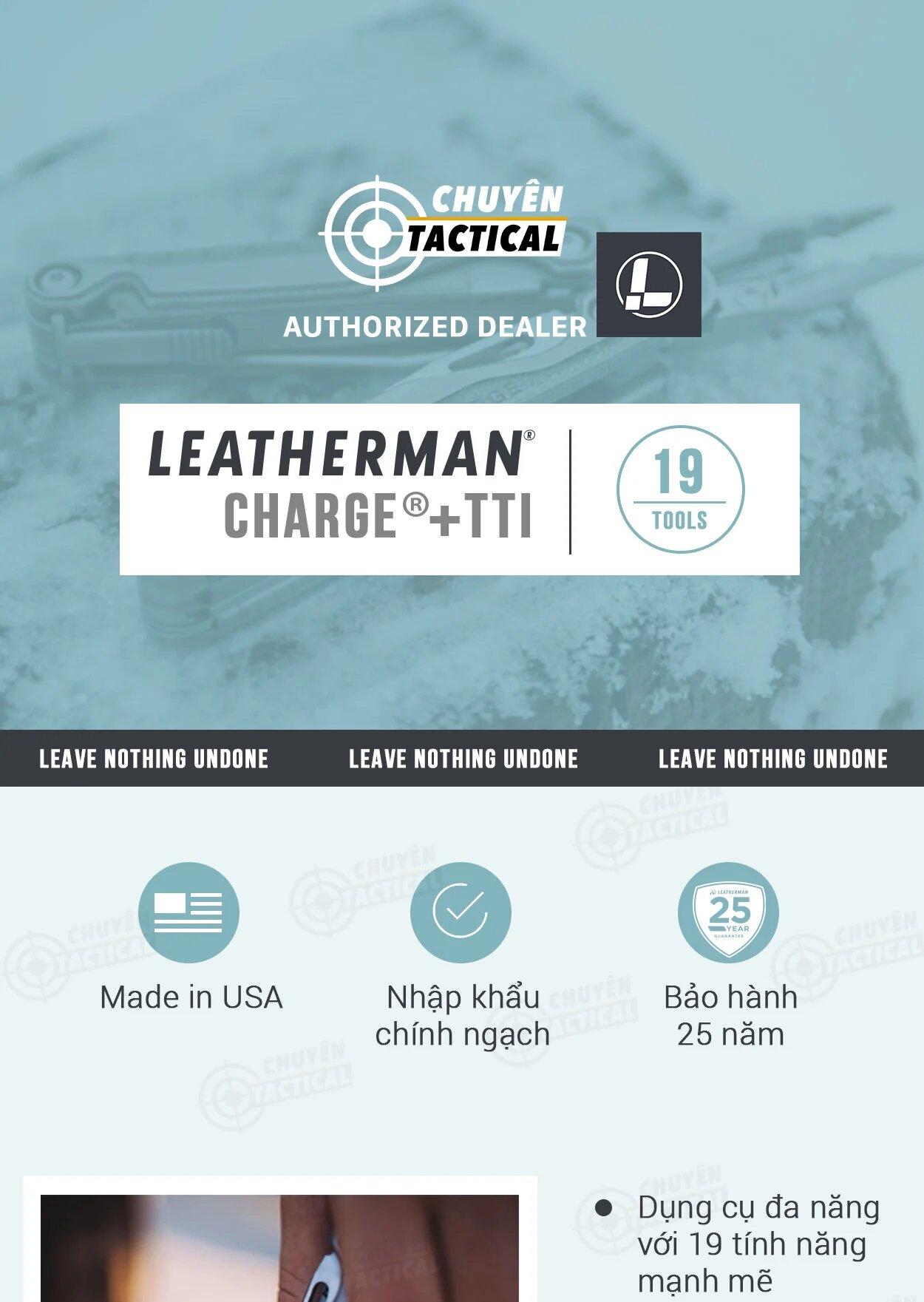 Kìm leatherman charge