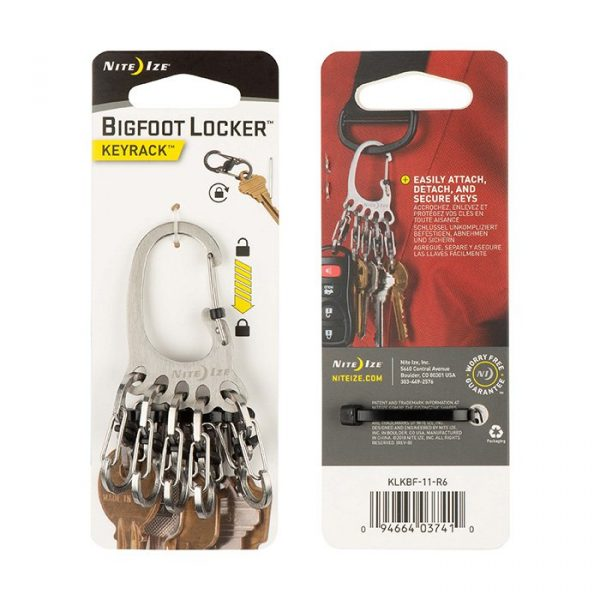Móc Khóa Nite Ize BIGFOOT LOCKER KEYRACK