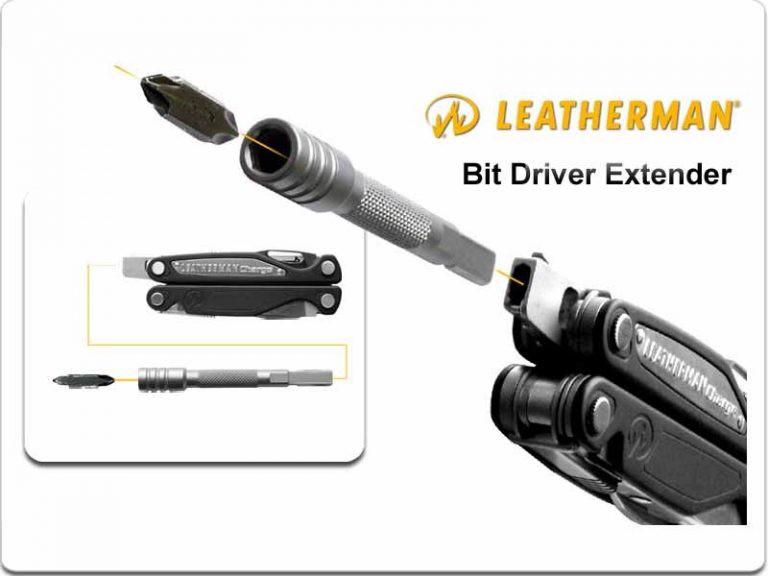 Leatherman BIT DRIVER EXTENDER BLACK