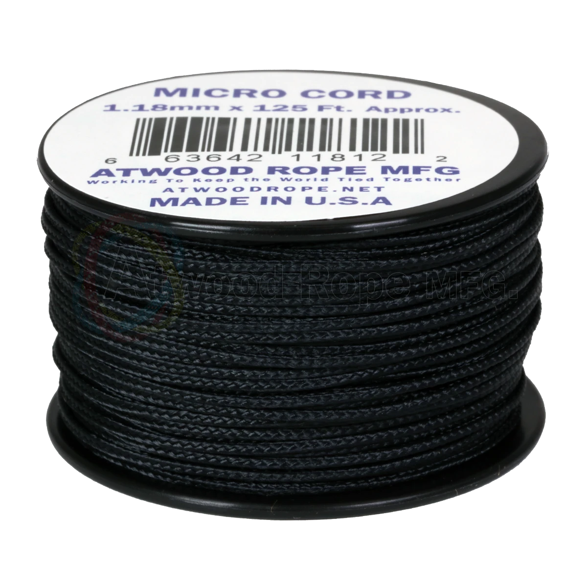 Dây Micro Cord 1.18mm – 100ft – Black