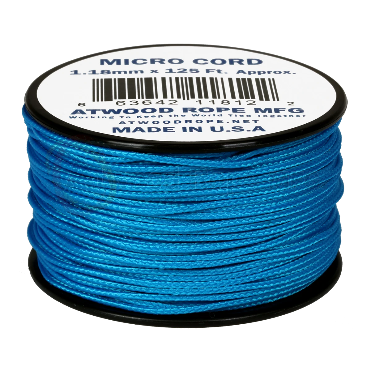 Dây Micro Cord 1.18mm – 100ft – Blue