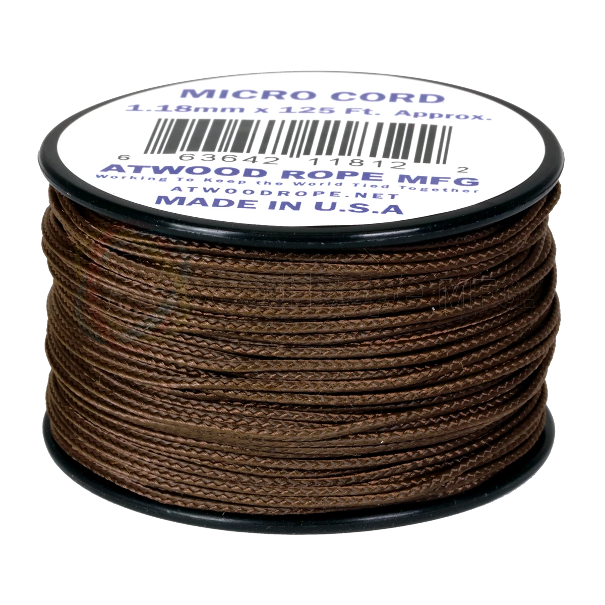 Dây Micro Cord 1.18mm – 100ft – Brown
