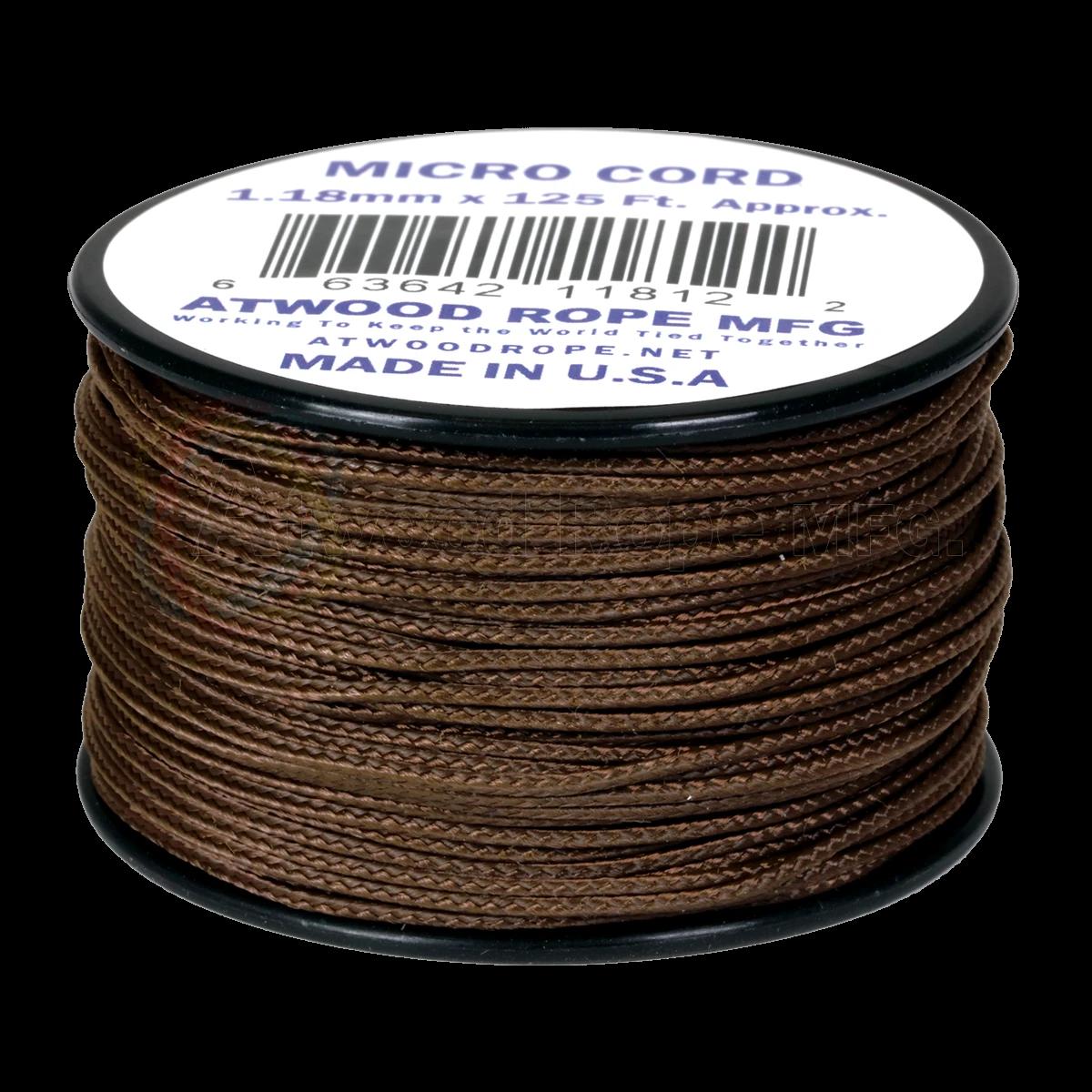 Dụng cụ đi phượt Dây Micro Cord 1.18mm – 100ft – Brown