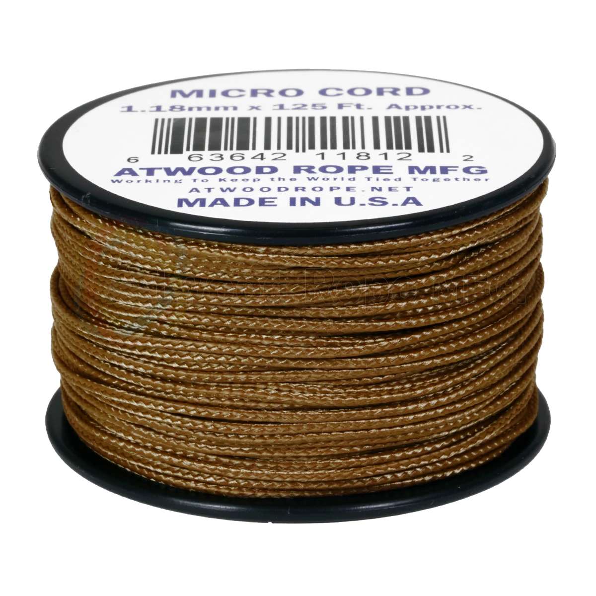 Dây Micro Cord 1.18mm – 100ft  – Coyote