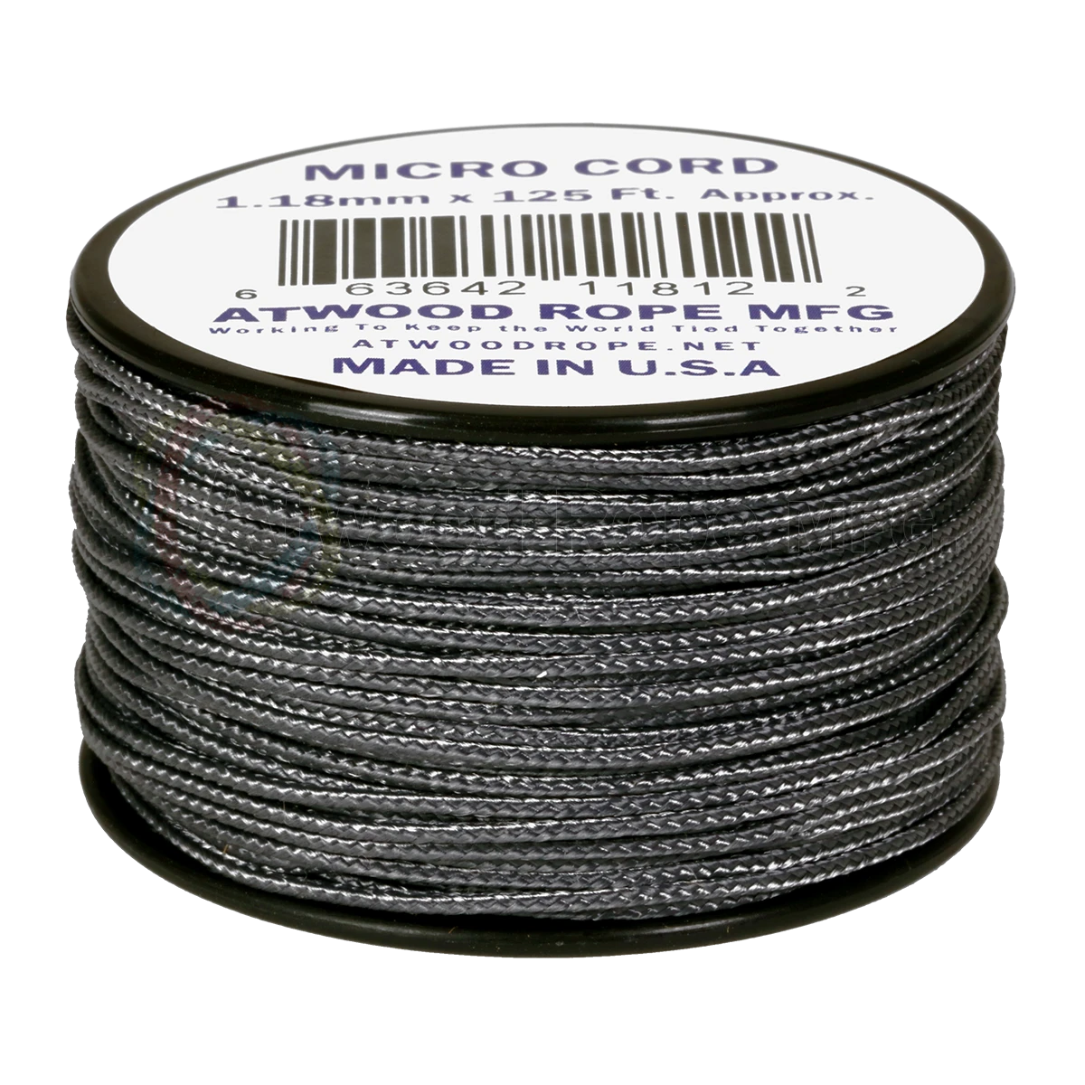 Dây Micro Cord 1.18mm – 100ft – Graphite
