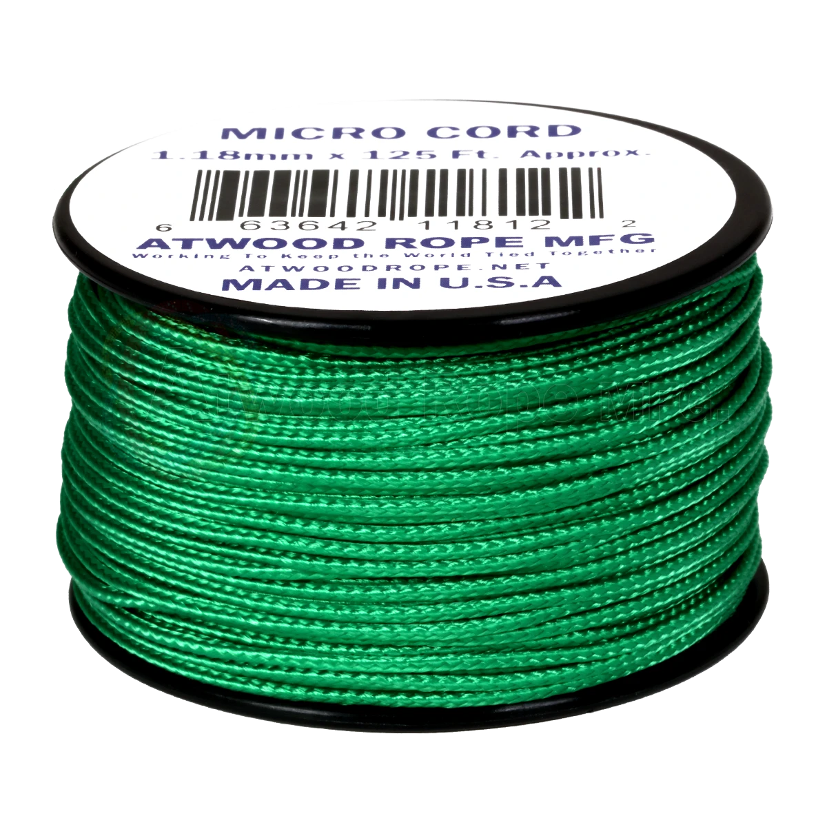 Dây Micro Cord 1.18mm – 100ft – Green