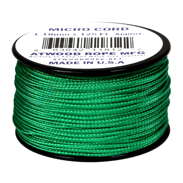 Dụng cụ phượt Dây Micro Cord 1.18mm – 100ft – Green