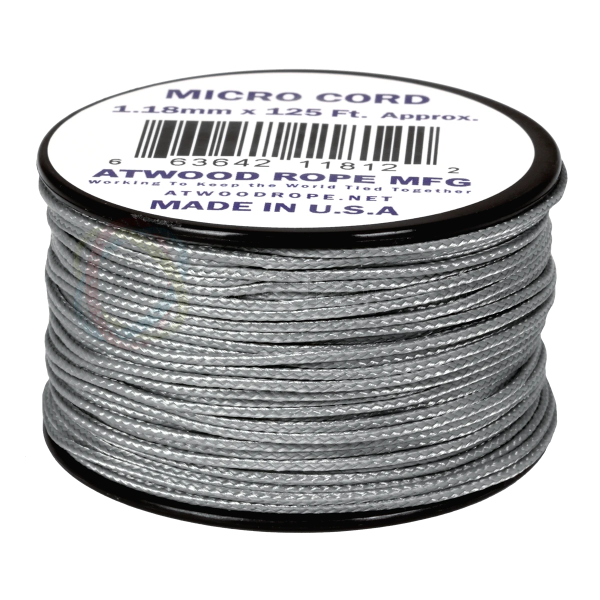 Dây Micro Cord 1.18mm – 100ft – Grey