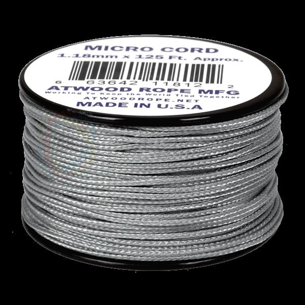 Dụng cụ phượt Dây Micro Cord 1.18mm – 100ft – Grey