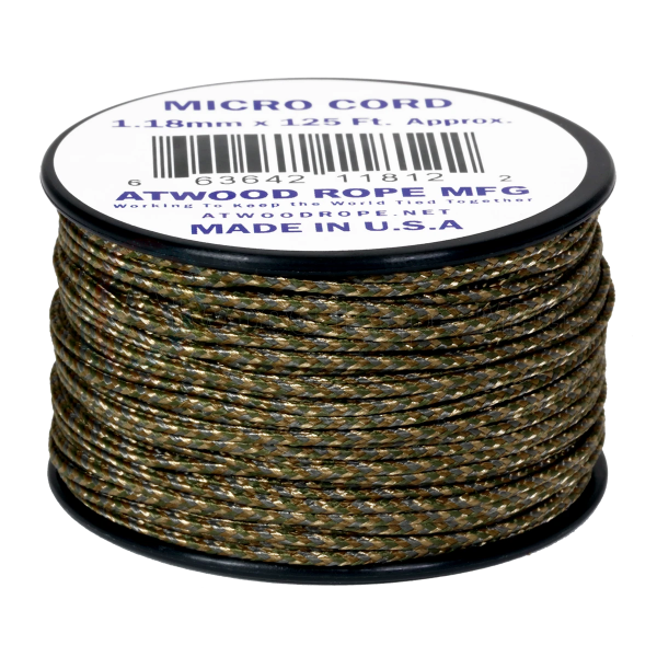 Dây Micro Cord 1.18mm – 100ft – Multicam