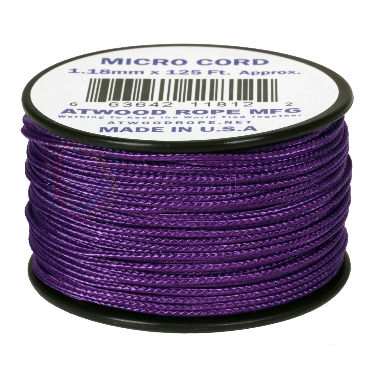 Dụng cụ du lịch Dây Micro Cord 1.18mm – 100ft – Purple