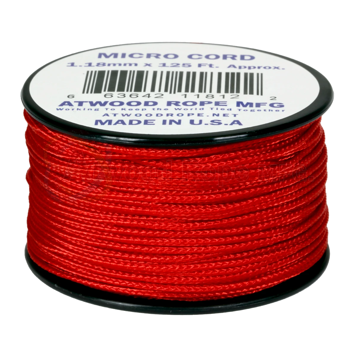 Dây Micro Cord 1.18mm – 100ft – Red