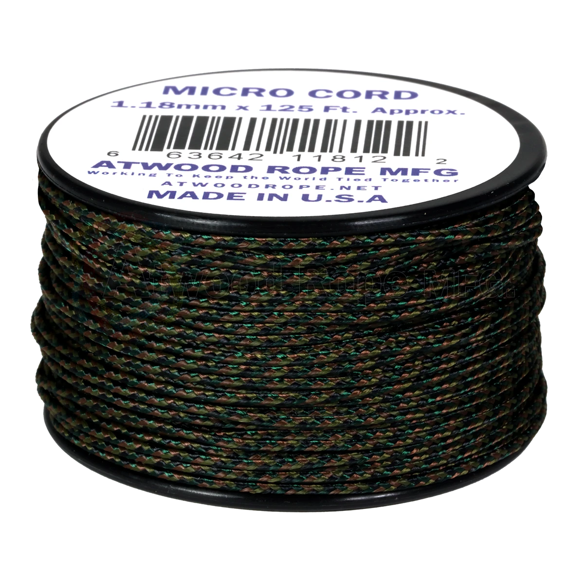 Dây Micro Cord 1.18mm – 100ft – WoodLand