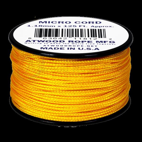 Dụng cụ phượt Dây Micro Cord 1.18mm – 100ft – Yellow