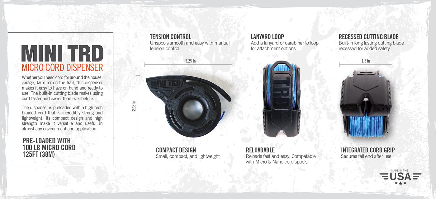 Micro Cord Dispenser – Mini TRD