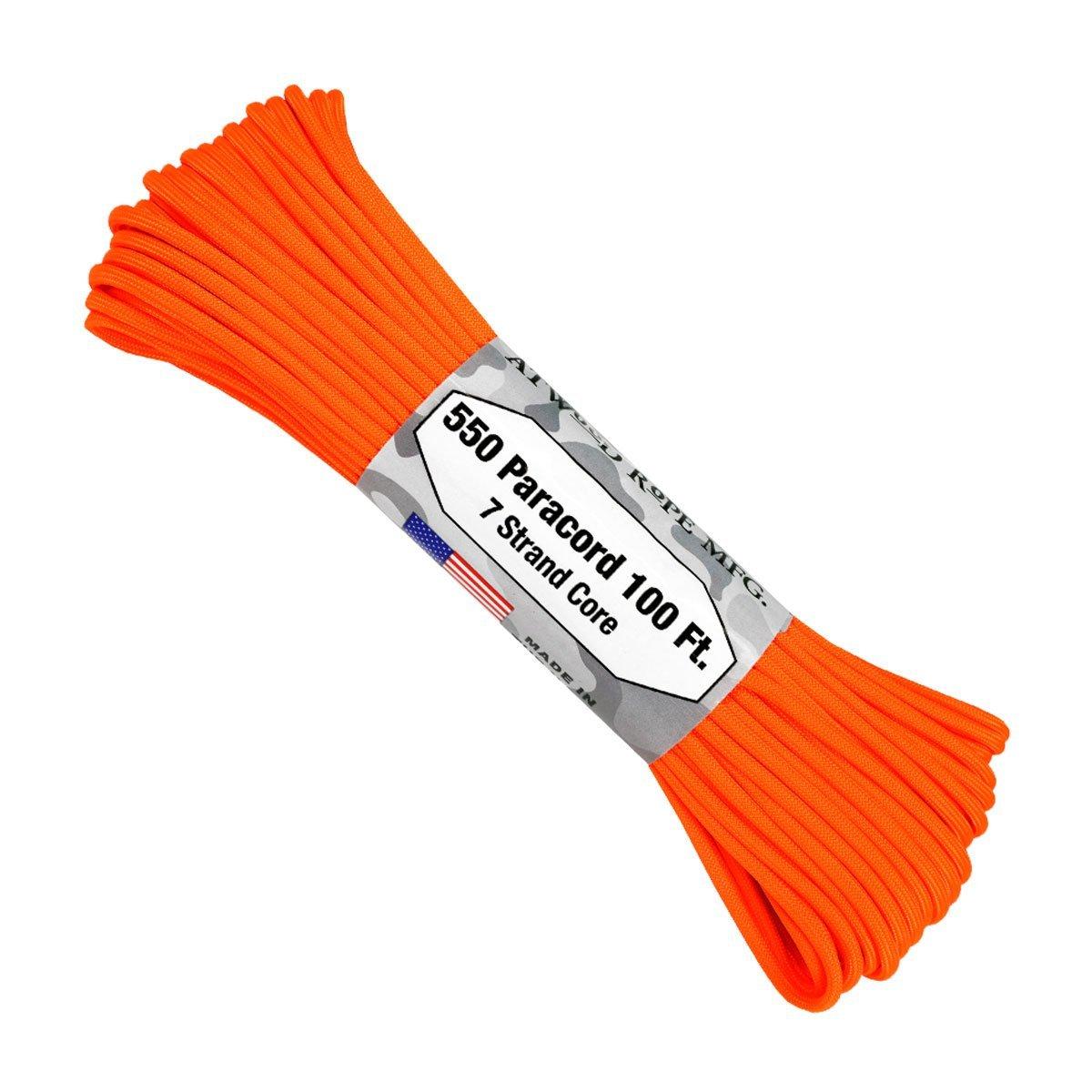Dây 550 Paracord – Neon Orange